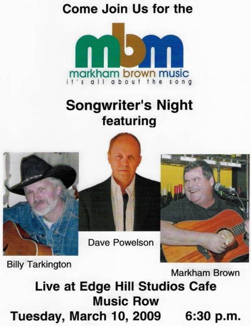 Markham Brown Music